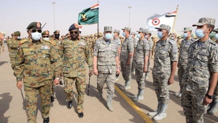 تدريبات عسكرية مصرية سودانية مشتركة في السودان