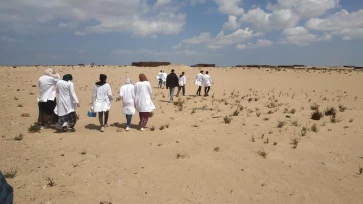 سیناء کے صحرا میں خواتین ڈاکٹروں کی تصاویر نے ورطہ حیرت میں ڈال دیا