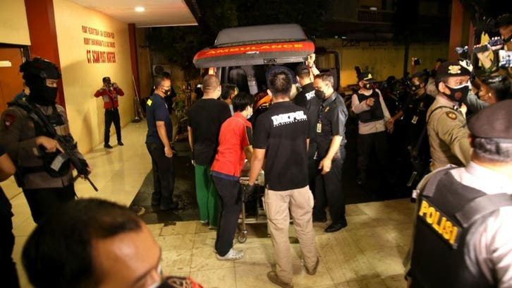 Indonesian police fatally shoot female attacker in gunfire exchange at police HQ