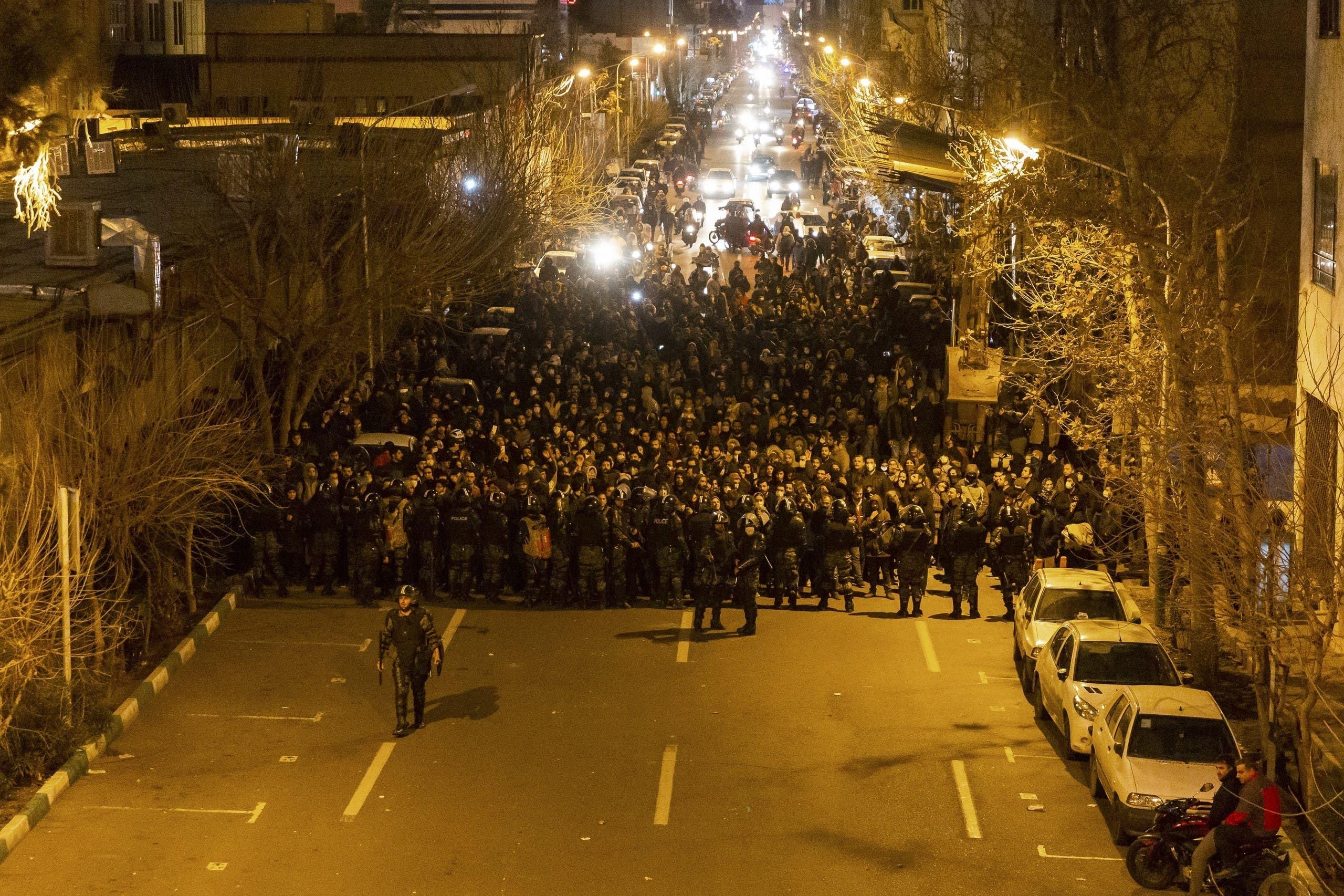 پلیس ضد شورش در ایران