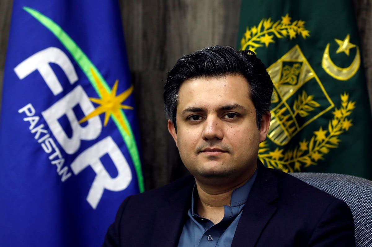 Pakistan Finance Minister Hammad Azhar. (File photo: Reuters)