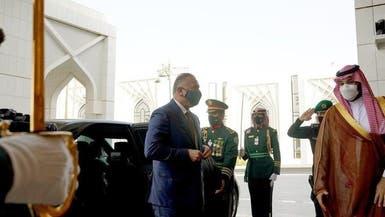 نخستوزیر عراق سفر رسمی خود به سعودی را آغاز کرد