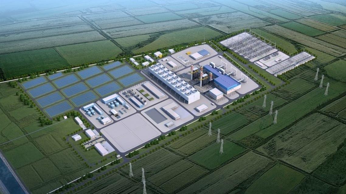 محطة توليد للطاقة تابعة لأكوا باور في أوزباكستان
