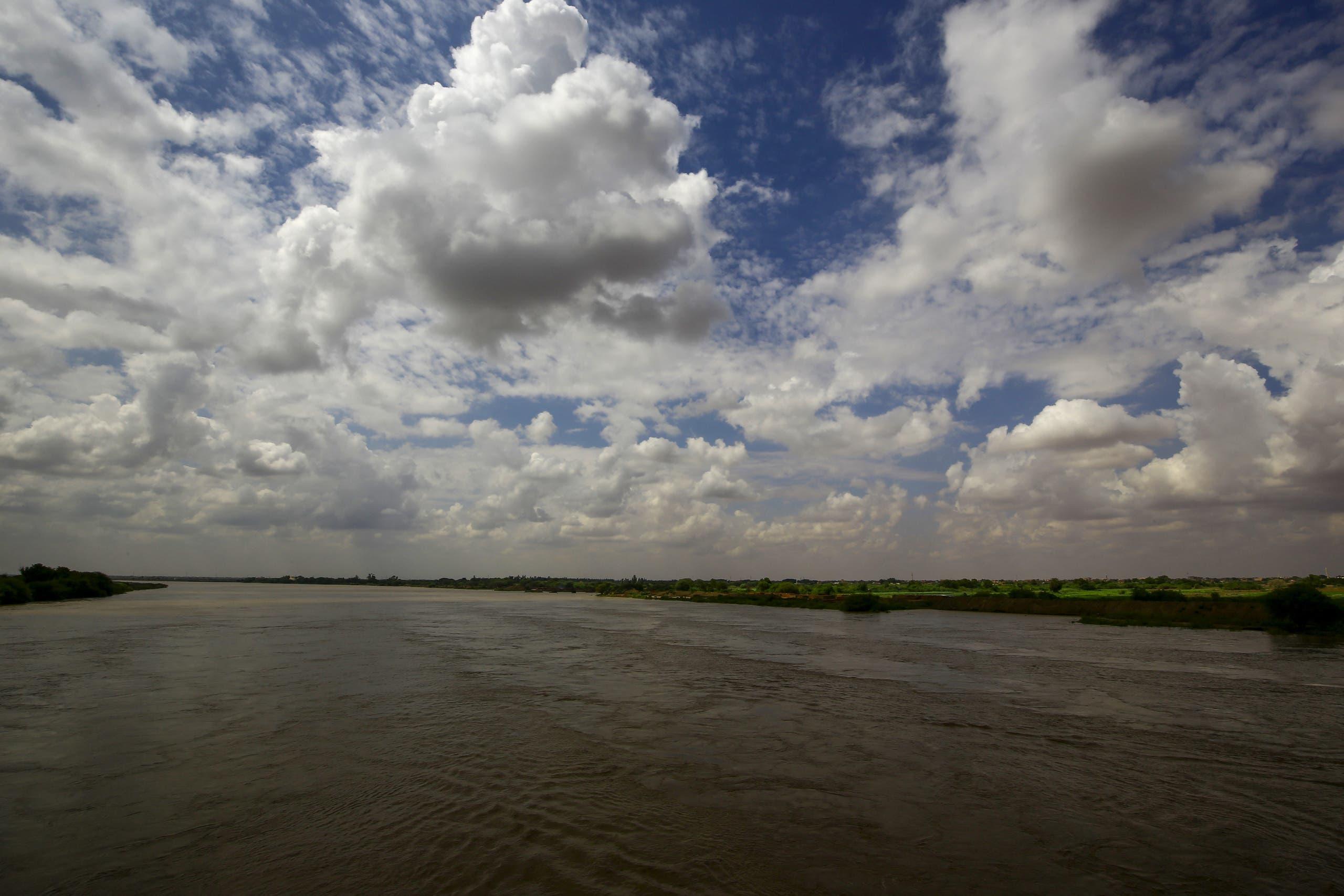 نهر النيل من الخرطوم  (فرانس برس)