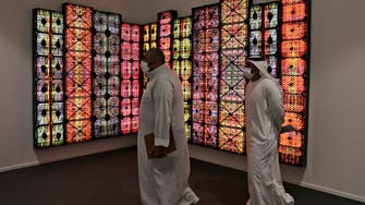 In Dubai, an art show's return reflects city's new normal