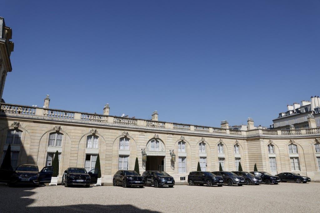 قصر الإليزيه في باريس