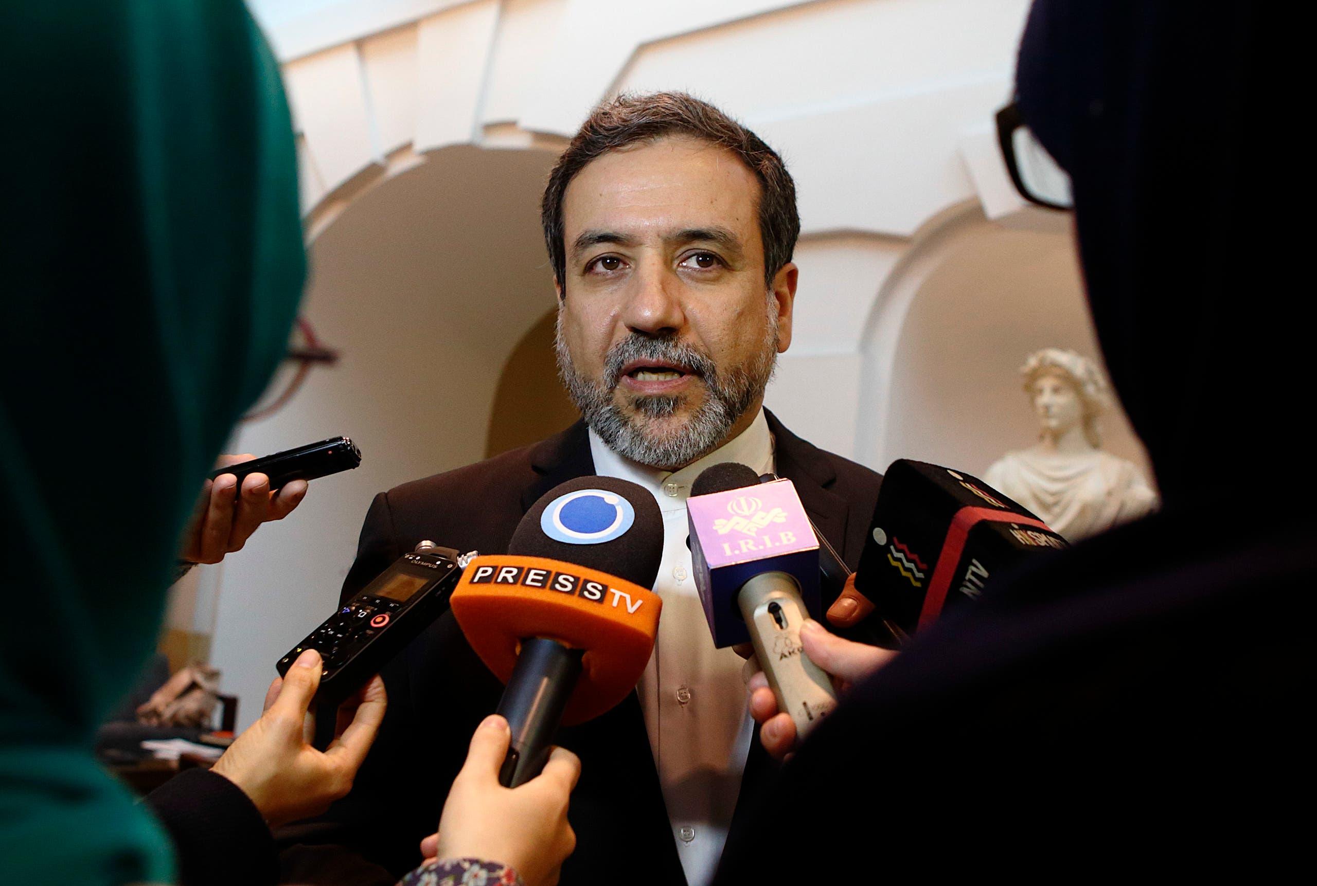 ساعد وزير الخارجية الإيراني عباس عراقجي (أرشيفية- رويترز)