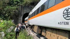 Taiwan train de-rails, 36 people killed , at least 72 injured