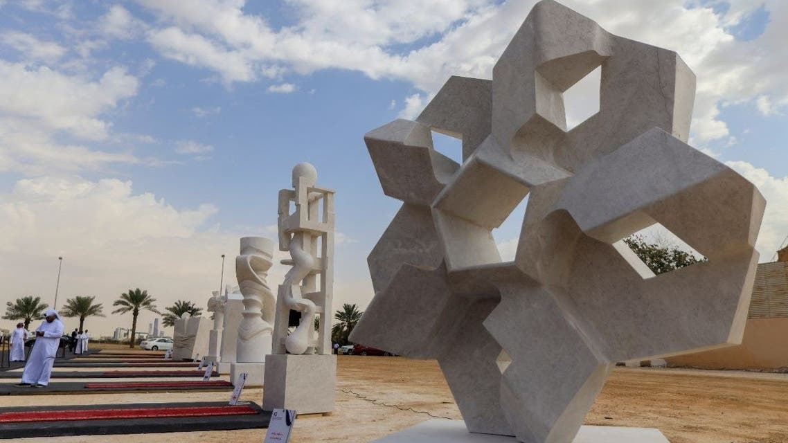 The 22-day Tuwaiq International Sculpture Symposium to be held this year from November 10 – December 6 will bring together 20 international and Saudi artists to create public sculptures in a live setting. (Courtesy: Riyadh Art)