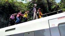 خروج قطار از ریل در تایوان 48 کشته برجای گذاشت