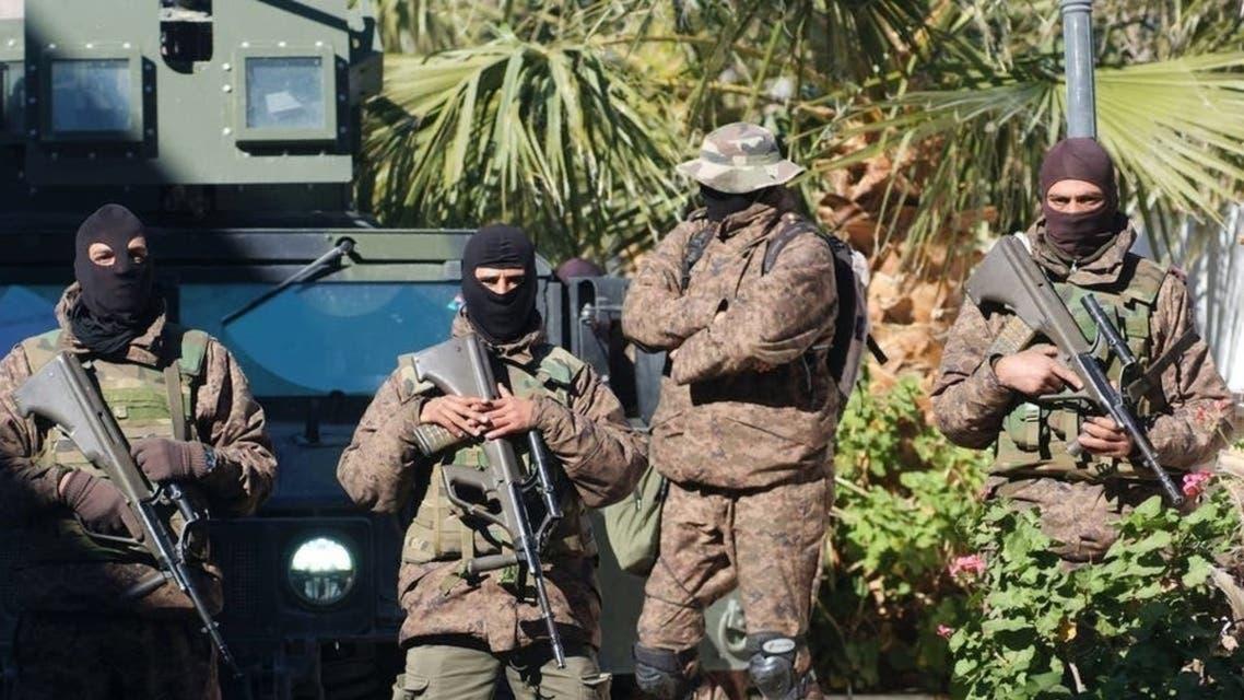 أفراد من الأمن التونسي