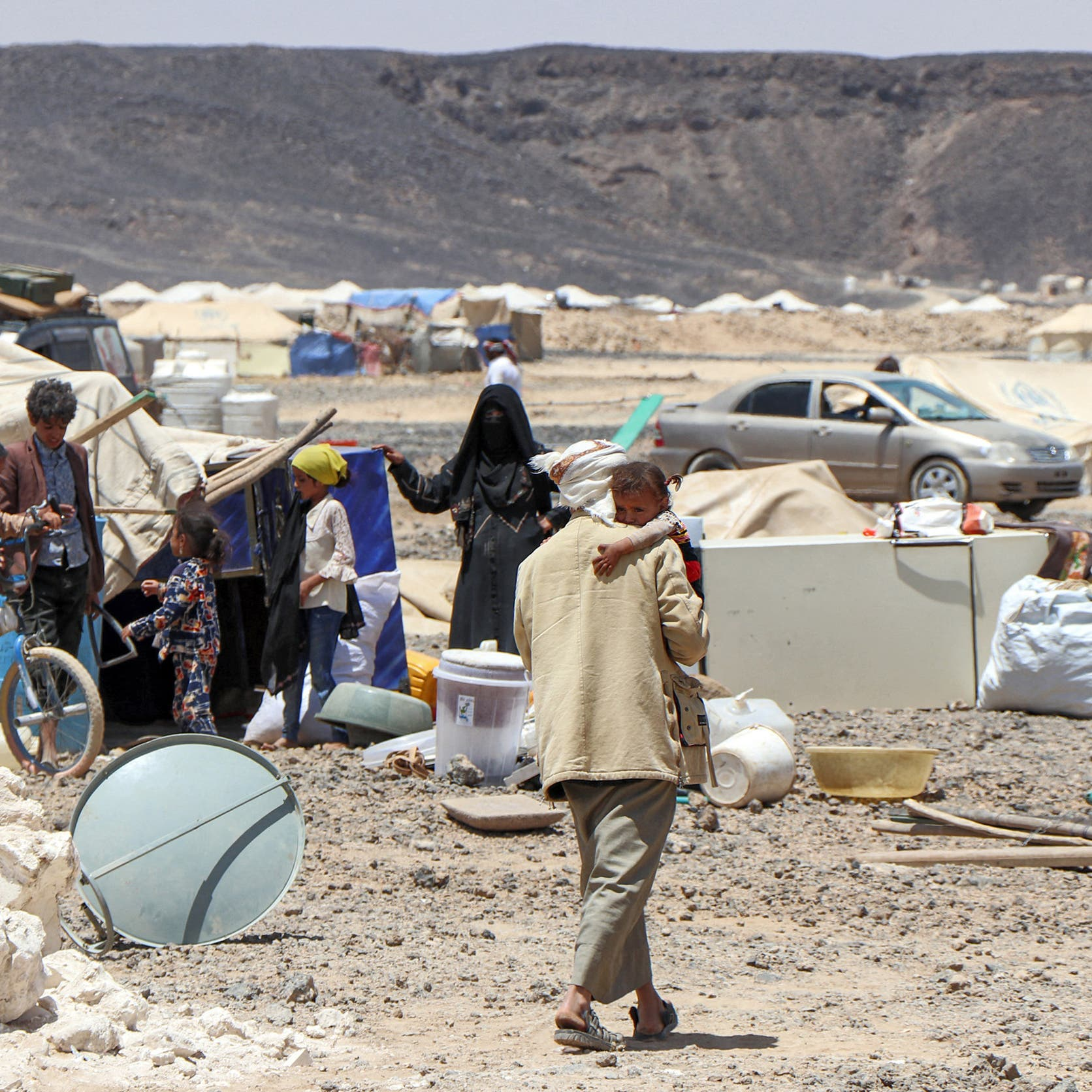تحذير أممي: النزوح مجدداً يهدد 400 ألف نازح في مأرب