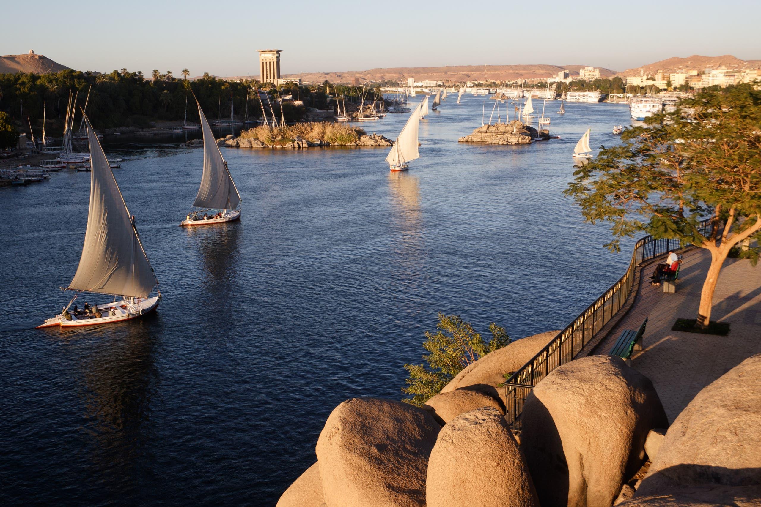 نهر النيل من الجهة المصرية (istock)