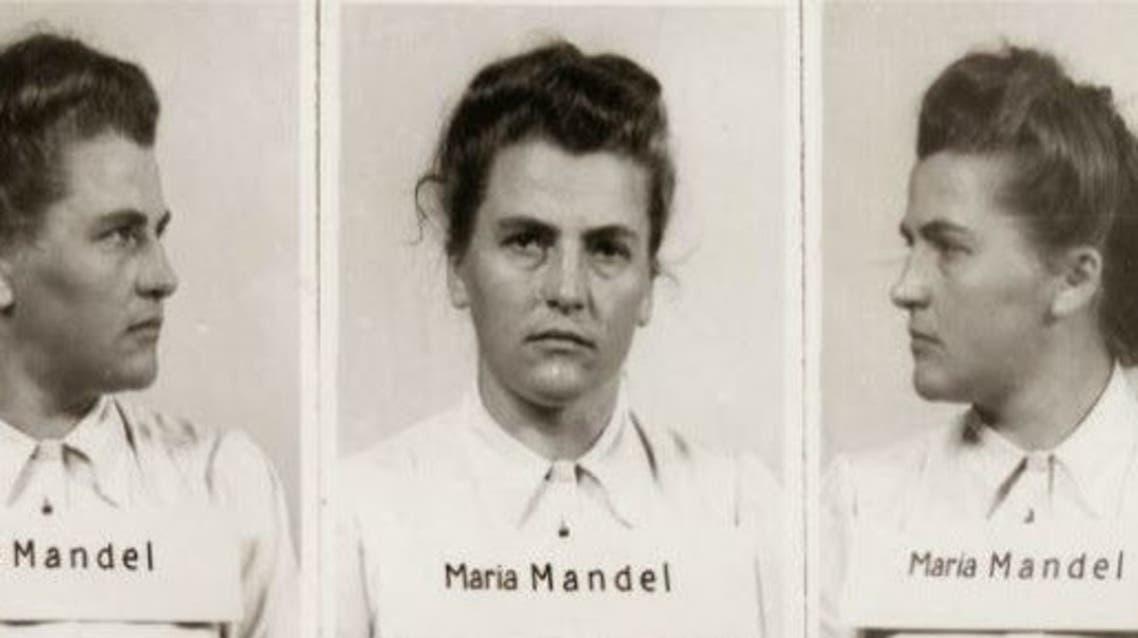 صور لماريا ماندل عقب اعتقالها