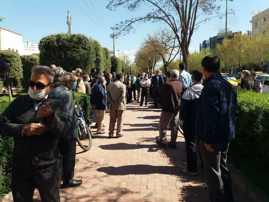 اعتراضات سراسری بازنشستگان در ایران