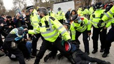 More than 100 protesters arrested in UK in demonstrations against policing bill