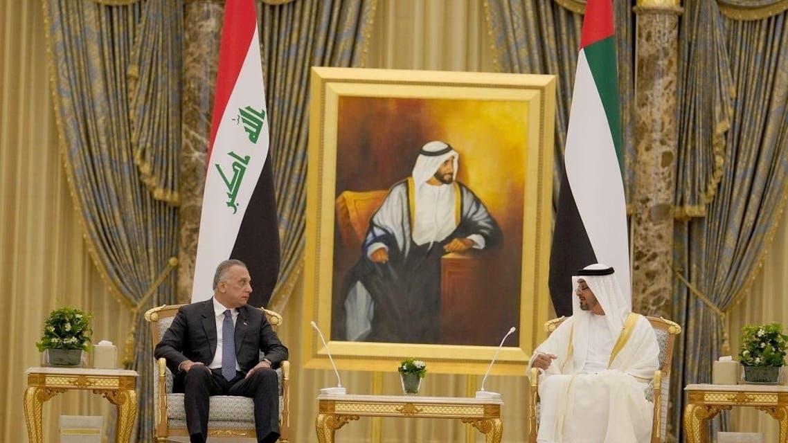 Iraqi PM Meets Abu Dhabi Crown Prince