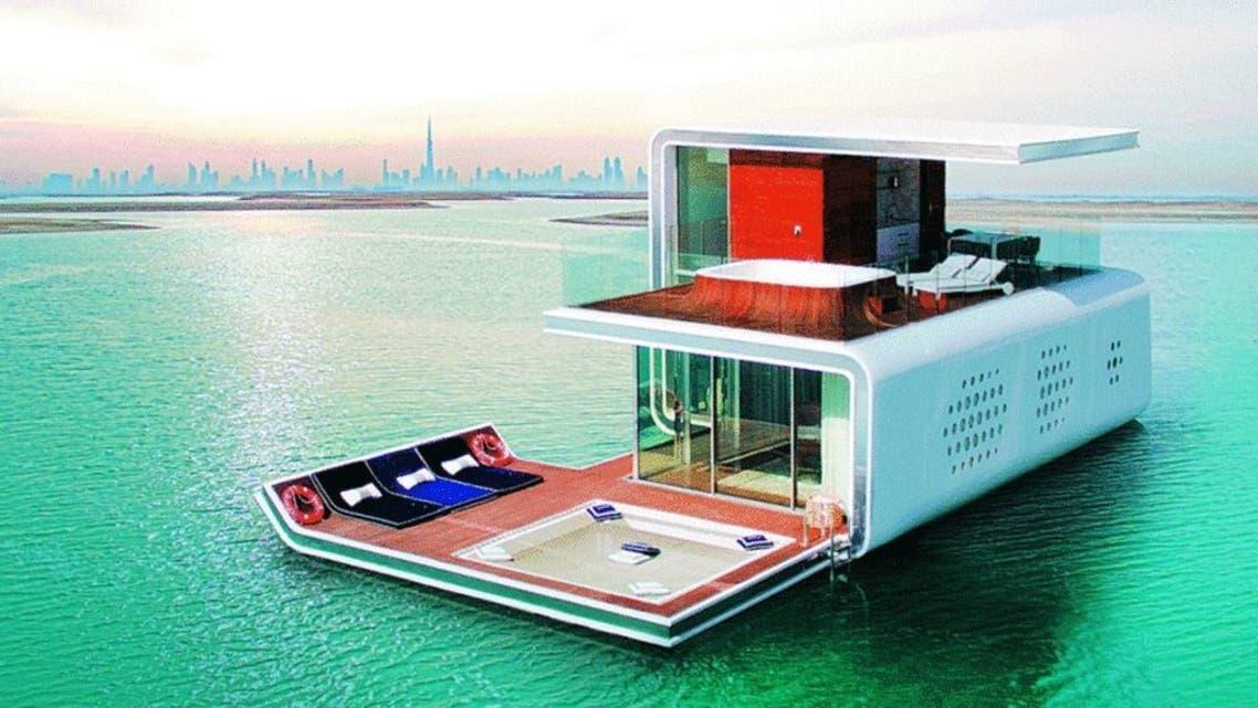 مساكن عائمة دبي