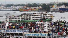 Rescue workers searching for survivors as Bangladesh ferry sinks in storm