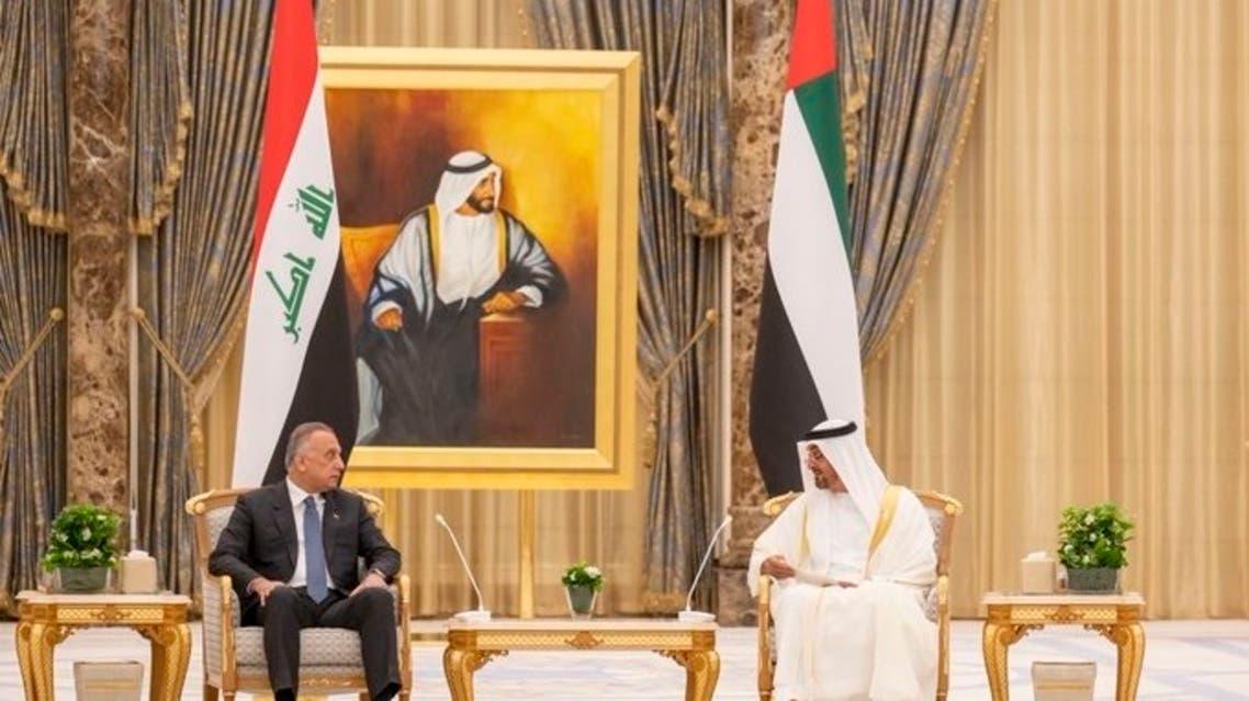 ولي عهد ابو ظبي والكاظمي