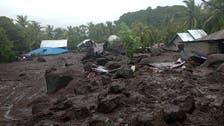 Dozens killed in flash floods, landslides in Indonesia, neighboring East Timor