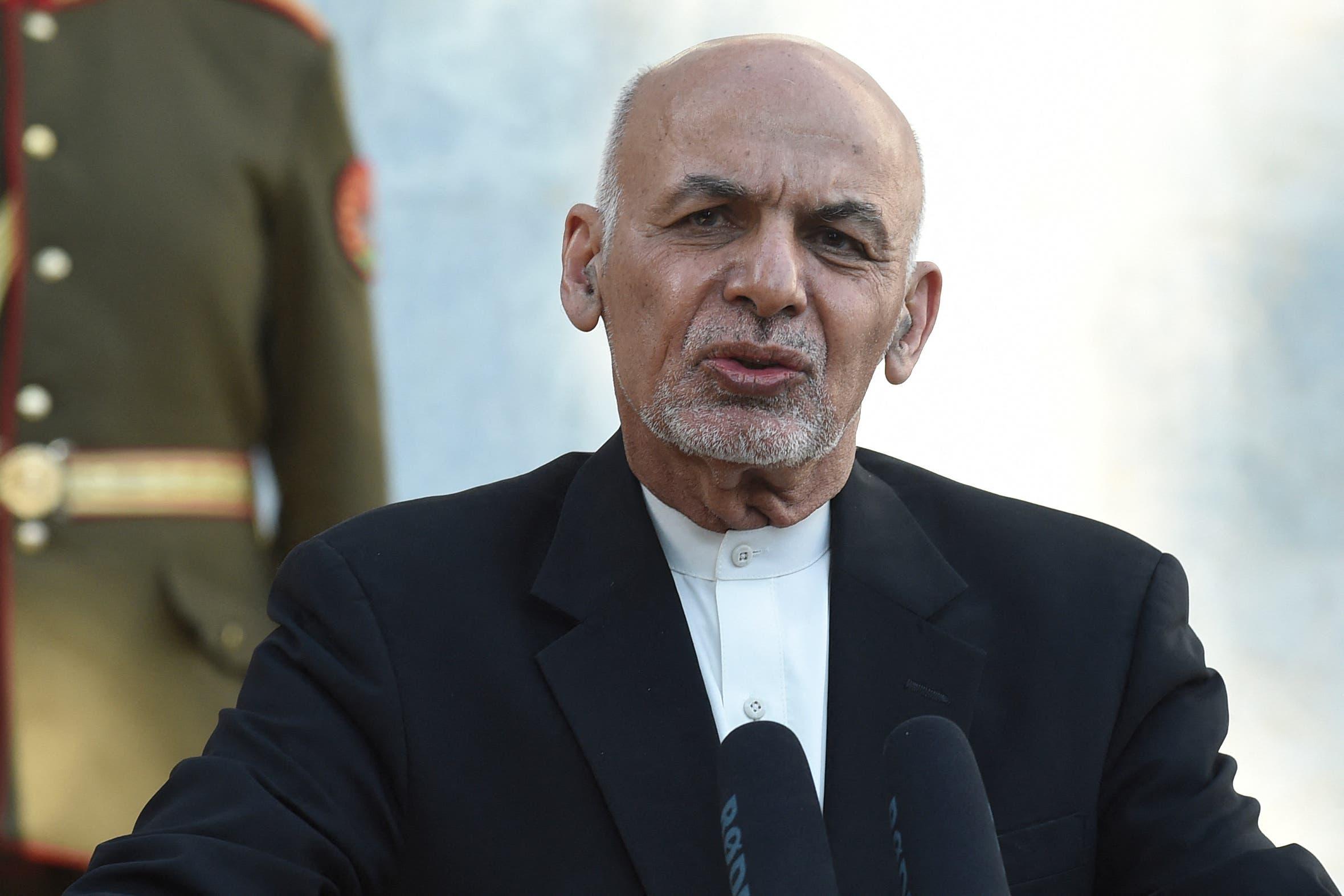 الرئيس الأفغاني أشرف غني (أرشيفية)