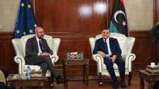 رئيس المجلس الأوروبي يزور ليبيا ويشدد على خروج المرتزقة