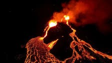 New lava stream flows from Iceland's volcano near Mount Fagradalsfjall