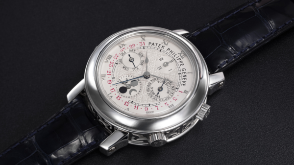 Dubai auction bid for rare Patek Philippe watch sits at $1.1mln, most expensive in ME