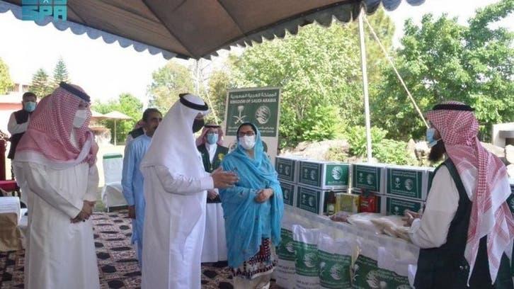 شاہ سلمان فلاحی مرکز کے زیر اہتمام رمضان فوڈ پیکج کی تقسیم کا آغاز