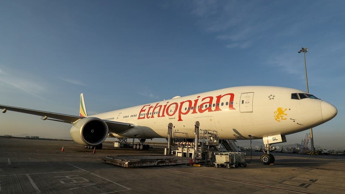 An Ethiopian Airlines Cargo plane at the Bole International Airport in Addis Ababa, Ethiopia. (File photo: Reuters)