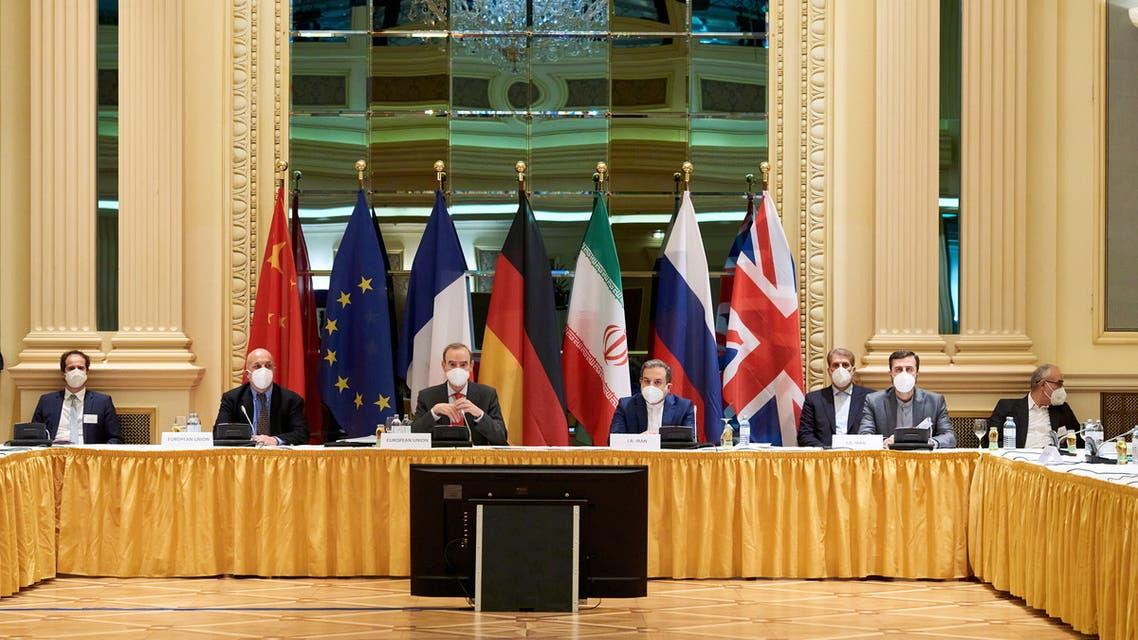 من اجتماعات فيينا حيث تعقد محادثات نووي إيران (أرشيفية- رويترز)