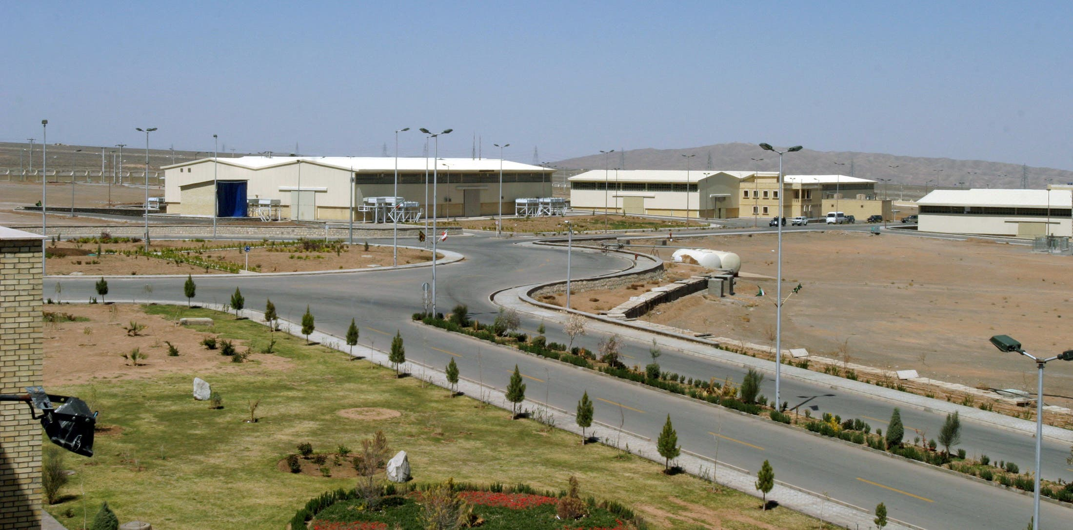 A view of the Natanz uranium enrichment facility 250 km (155 miles) south of the Iranian capital Tehran. (File photo: Reuters)