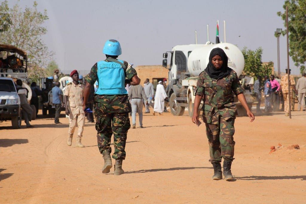 من قوات الأمم المتحدة في دارفور - فرانس برس