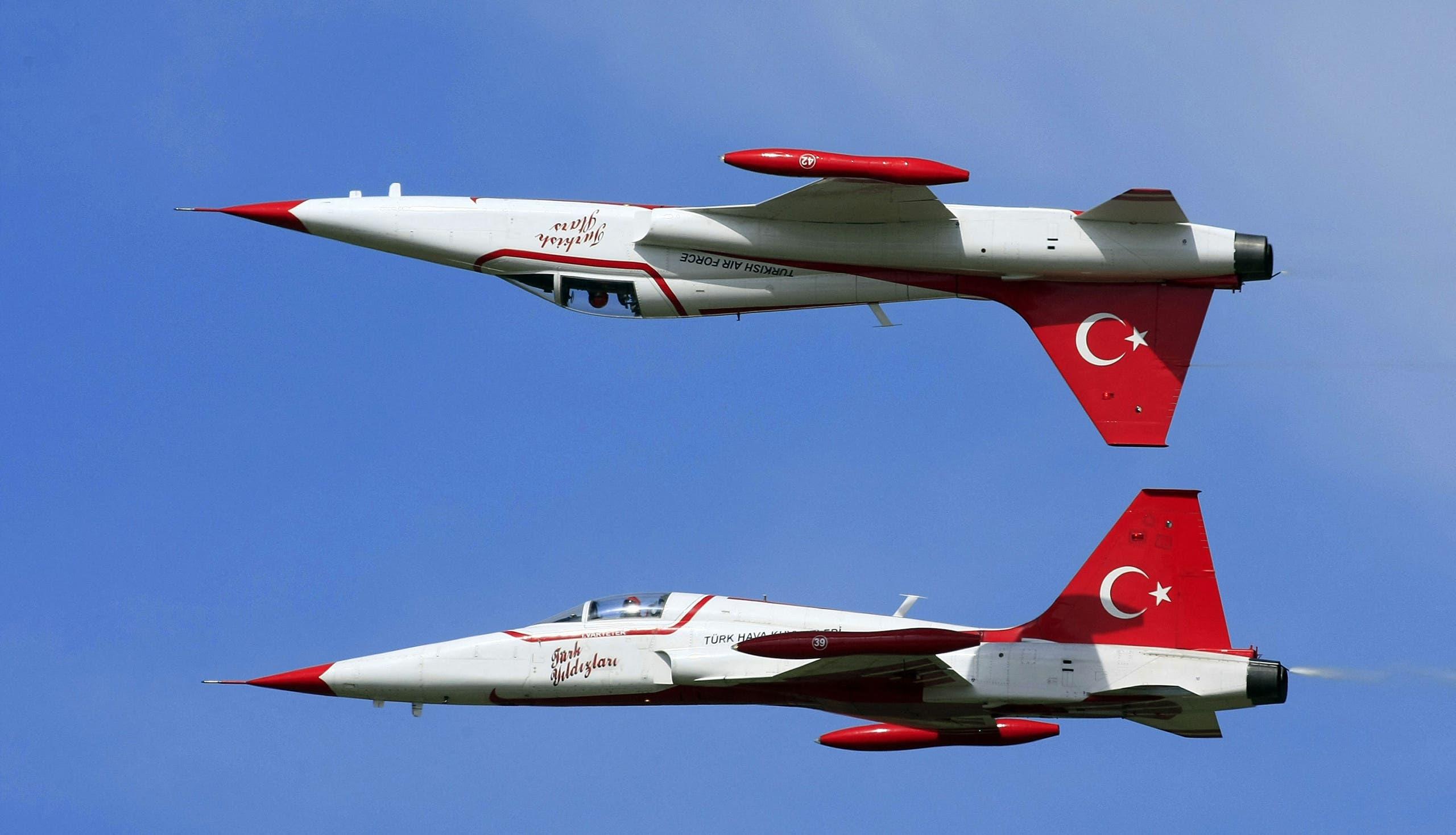 مقاتلة تركية - فرانس برس