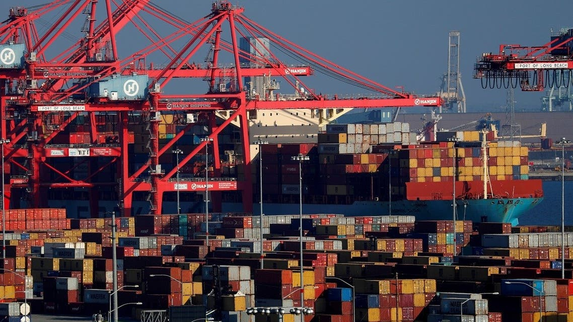 Ships and shipping containers are pictured at the port of Long Beach in Long Beach, California, US. (File photo; Reuters)