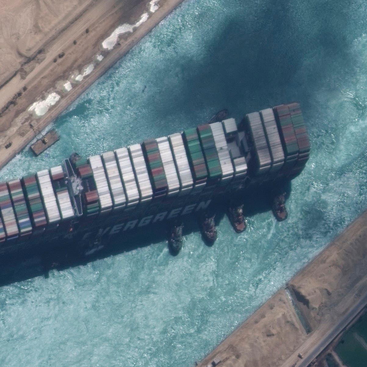 """محكمة مصرية تقضي باستمرار حجز سفينة """"إيفر غيفن"""""""