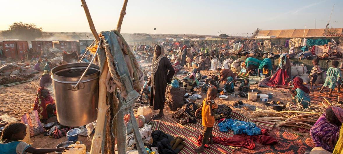 نازحون في دارفور (فرانس برس)