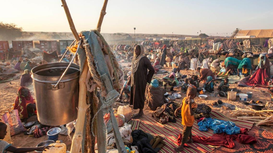 نازحون في دارفور