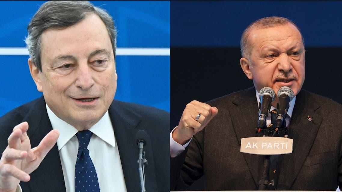 Italian PM Draghi calls Turkey's Erdogan a dictator