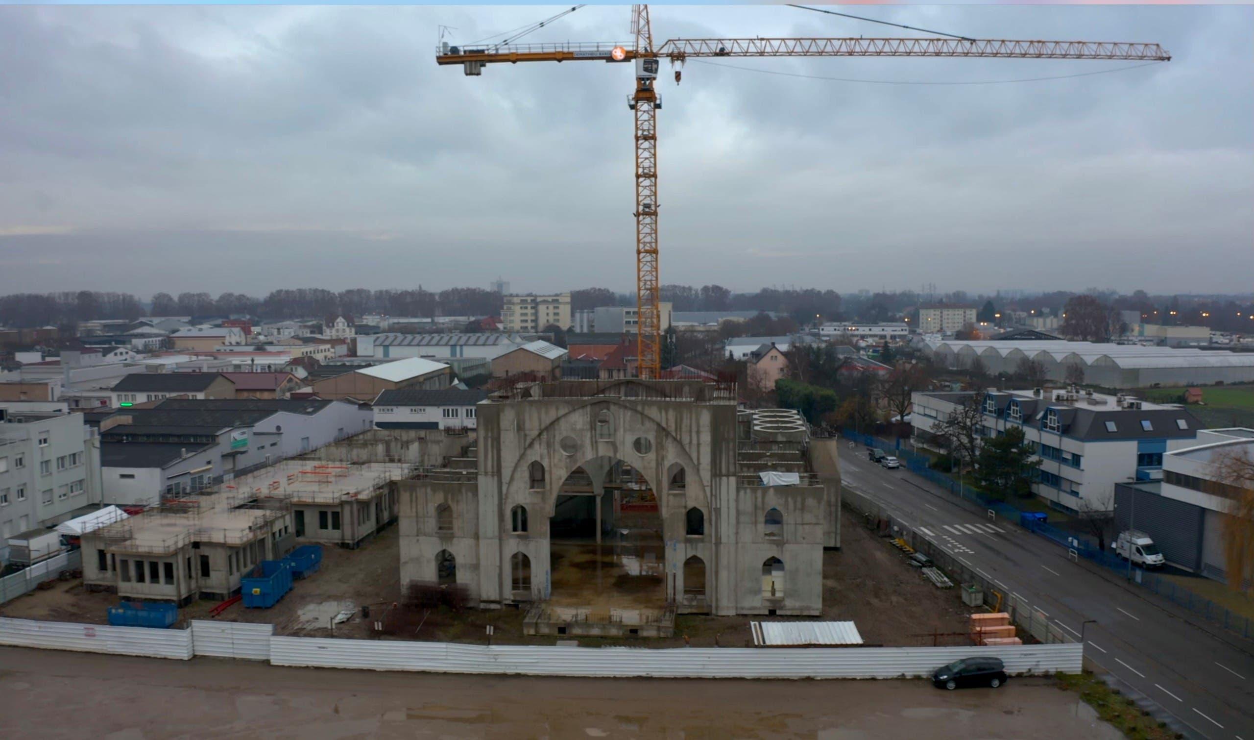 صورة لمسجد سلطان أيوب في ستراسبورغ