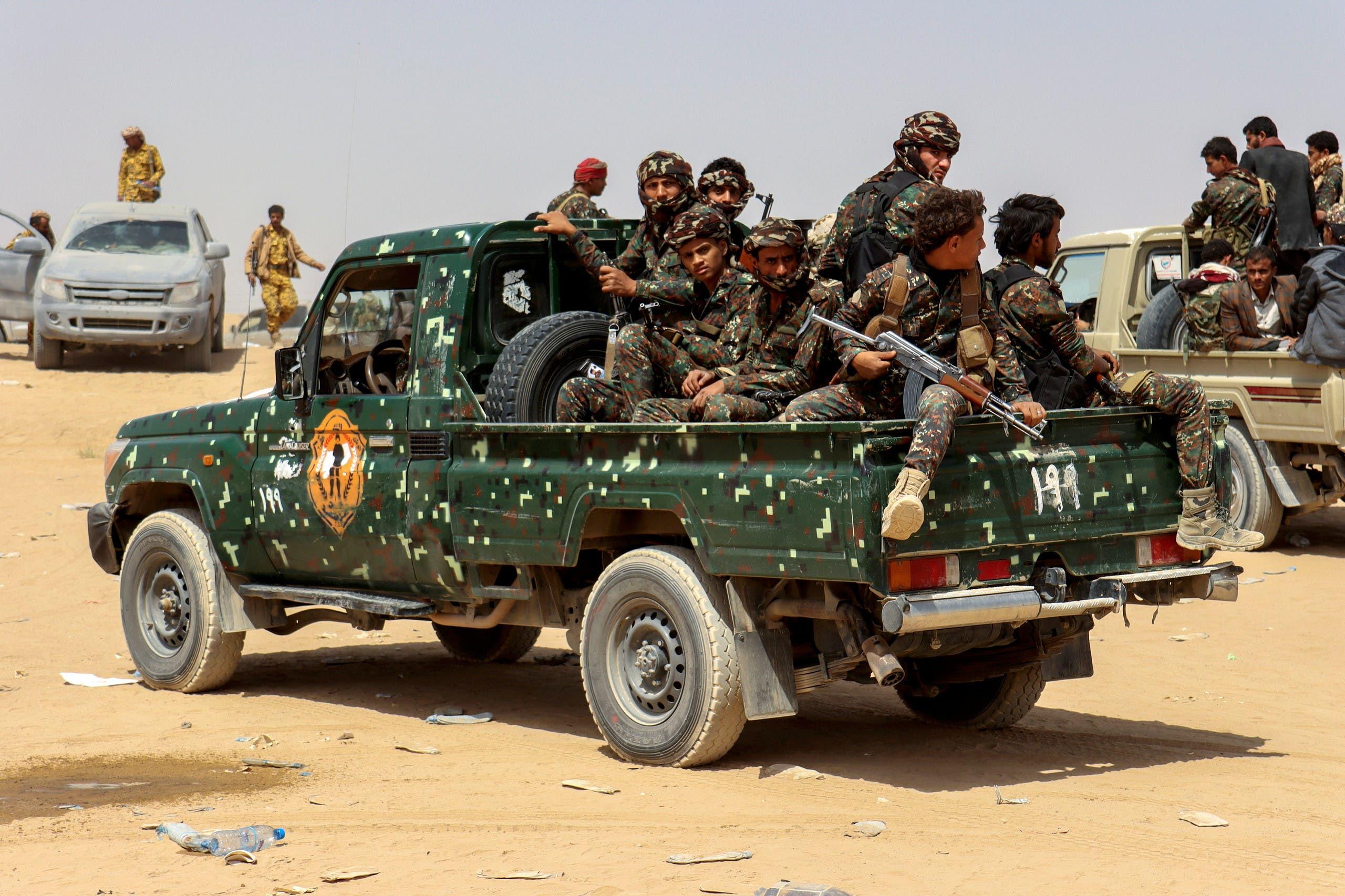 قوات الشرعية في مأرب