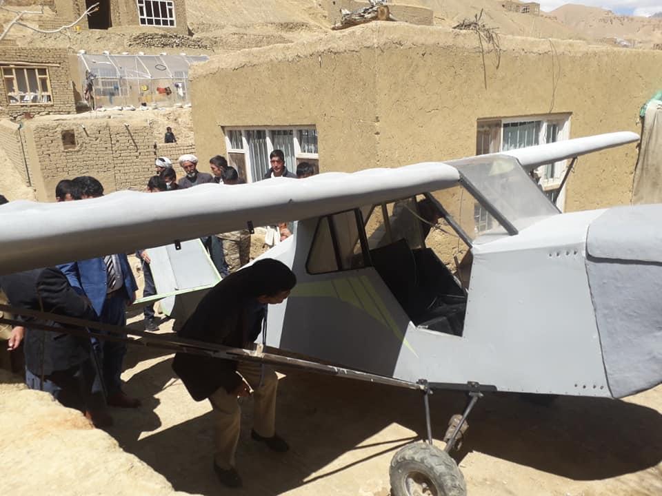 هوپیمای دستساز جوان افغان در هرات