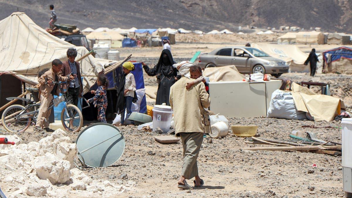 عدد النازحين يرتفع.. مأرب تدعو مفوضية اللاجئين للتدخل