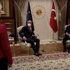 ترک صدر سے ملاقات میں یورپی کمیشن کی سربراہ کی توہین: ویڈیو جاری