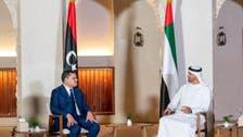 محمد بن زايد يلتقي الدبيبة: نقف إلى جانب الأشقاء الليبيين