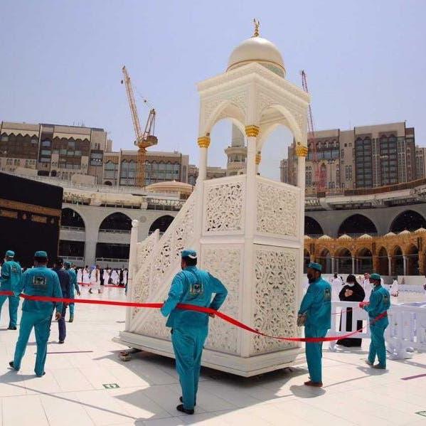 هكذا استعد الحرم المكي لآخر جمعة قبل رمضان