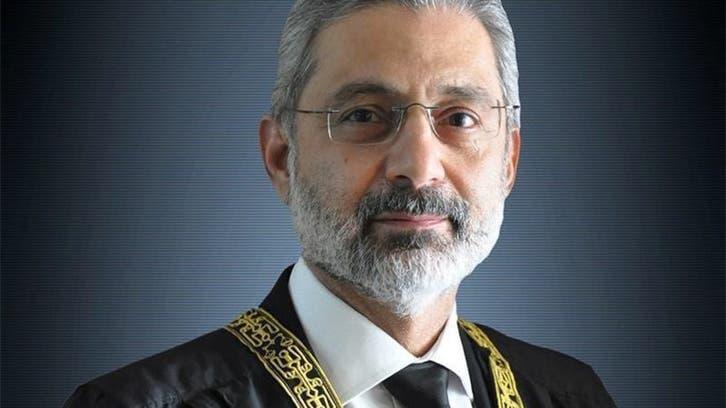 آئین کی حفاظت کا حلف اٹھانے والوں نے ہی اپنے دستور کی خلاف ورزی کی: جسٹس قاضی فائز