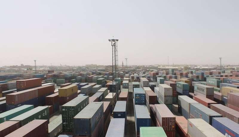 الميناء الجاف في الرياض