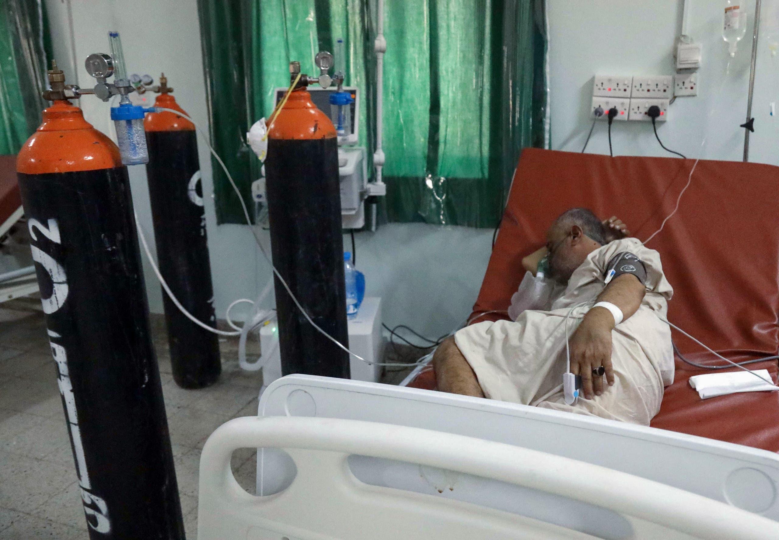 مركز لعلاج المصابين بكورونا في تعز